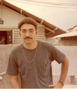 Rick Randig in his former life as an 'addiction counselor' in Camrahn Bay, Vietnam