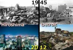 How are we going to fix the world when we can't even fix Detroit???