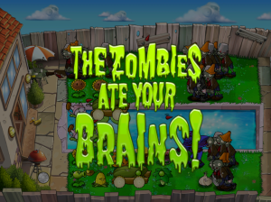 not a believer in zombies, but sometimes the stupidity feels the same as the zombies. Screen dump plants and zombies.