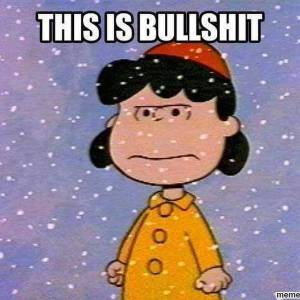 Apologies to the late Charles Schultz, but this meme has been valid for far too much of this winter.