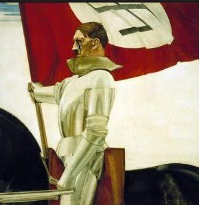 A Nazi Propaganda picture of some repute.