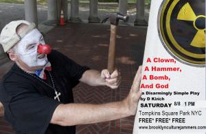 clown poster Tompkins