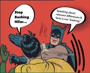 hillary batman