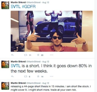 The current avatar of hostage capitalism, Martin Shkreli