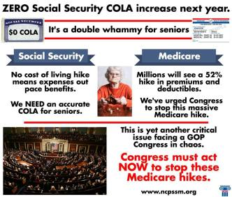 From the National Committee to Preserve SS and Medicare's website.