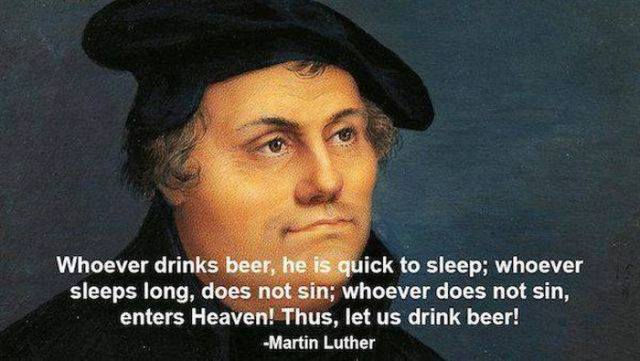 martin luther beer