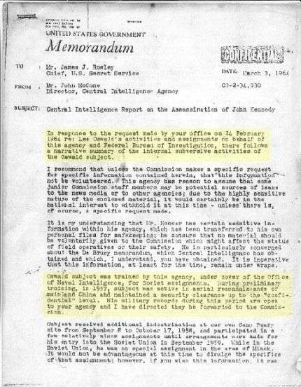 Oswald CIA