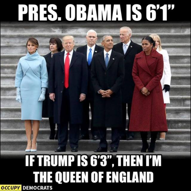 Trump height